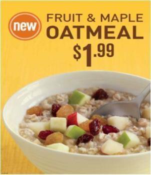 mcdonalds oatmeal
