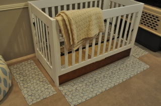 crib skirt - panels