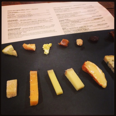 cheese with menu