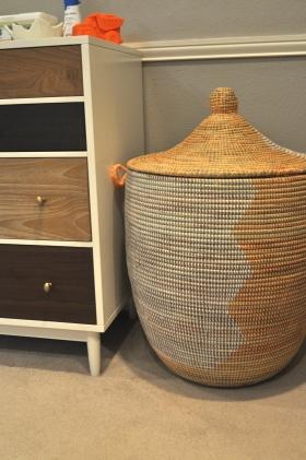 basket and dresser