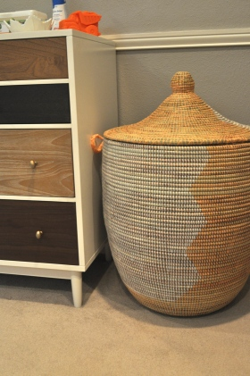 basket and dresser