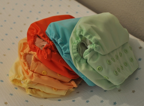 Colored Diaps