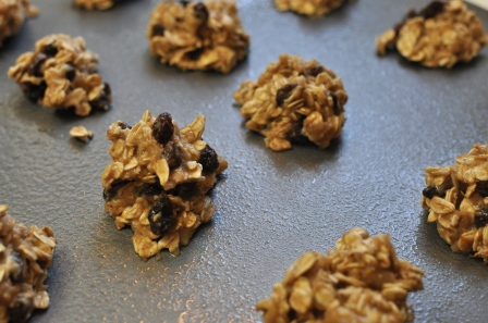 Granola cookie sheet