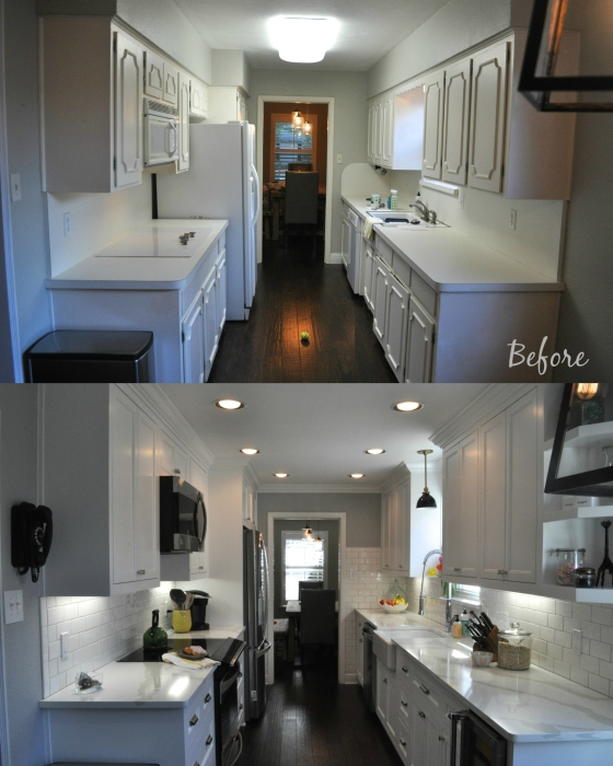 Before + After 2015 Kitchen