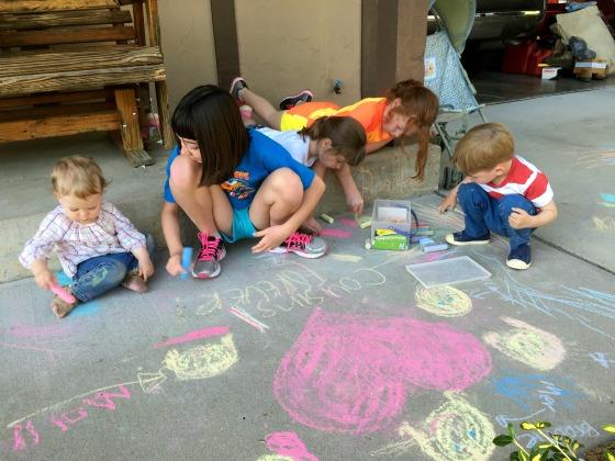 Chalk w cousins